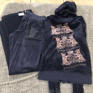 Juicy couture velour sweat suit